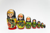 Russian matryoshka doll — Stock Photo