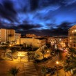 Stock Photo: Night life on majorca