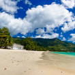 Panorama of a dream beach — Stock Photo