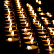 Candle light in a church — Stock Photo #3079819