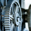 Industrial gears — Stock Photo