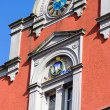 Old building with clock — Stock Photo #3106302