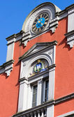 Old building with clock — Stock Photo