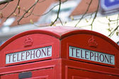 English telephone — Stock Photo