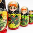 Russian matryoshka - Foto de Stock