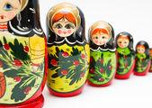 Matryoshka rusa — Foto de Stock