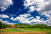 Droom platteland — Stockfoto