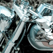 Glamor motorcycle — Stock Photo #3648467