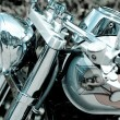 Glamor motorcycle — Stock Photo