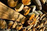 Natural lumber — Stock Photo