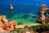 Algarve rock - coast in Portugal — Stockfoto