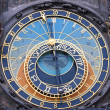 Royalty-Free Stock Photo: The Prague Astronomical Clock - square