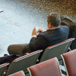 Royalty-Free Stock Photo: Waiting the flight