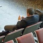 Waiting the flight — Stock Photo #2981056