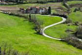 Piedmont landscape - Italy — Stock Photo