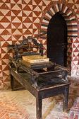 Ancient printing press — Stock Photo