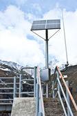 Su ve güneş enerjisi — Stok fotoğraf