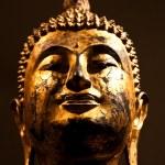 Sitting Bodhisattva - detail — Stock Photo