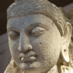 Standing Bodhisattva - detail — Stock Photo #3158706