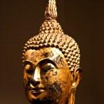 Sitting Bodhisattva - detail — Stock Photo #3192428