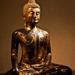 Sitting Bodhisattva - detail — Stock Photo #3343620