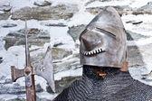 Medieval army — Stock Photo