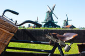 The bicycle in Holland — Stock Photo