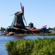 Mills in Holland — 图库照片