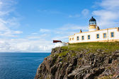 Lighthouse in Sutherland — Stock Photo