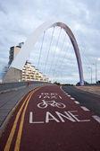 Glasgow - Clyde Arc — Stock Photo