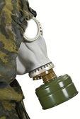Gas mask — Stock Photo
