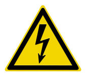 High Voltage Sign — Stock Photo