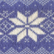Knitted Pattern — Stockfoto