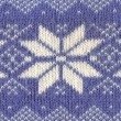 Knitted Pattern — Stock Photo