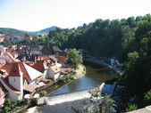 View of Cesky Krumlov — Stock Photo