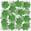 Royalty-Free Stock Photo: Clovers background