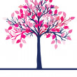 Royalty-Free Stock Photo: Pink tree