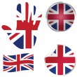 United Kingdom collection — Foto de Stock