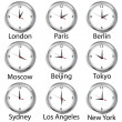 World hours — Stockfoto