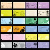 Elegant business card templates — Stock Photo