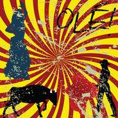 Grunge Spanish concept — Stock Photo