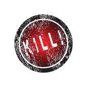 Timbro di gomma con uccidendo consigli — Foto Stock