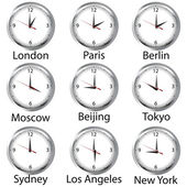 World hours — Stock Photo