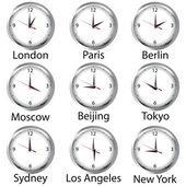 World hours — Stock Photo