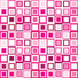 Pattern in pink squares — Stock Photo