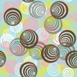 Stock Photo: Abstract background with circles