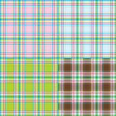 Collection of fashion fabrics texture — Stock Photo