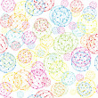 Abstract balls background — Stock Photo