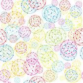 Fondo abstracto bolas — Foto de Stock