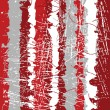 Red grunge background - Stock Photo